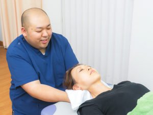 寝違えに特化した首へのアプローチ